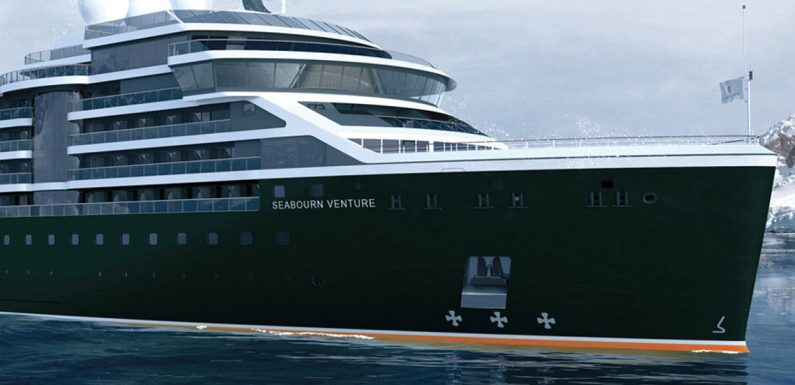 Seabourn expedition ship to be named Venture