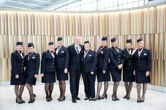 British Airways collegues fly a 'Mothership' this Mother's Day ·