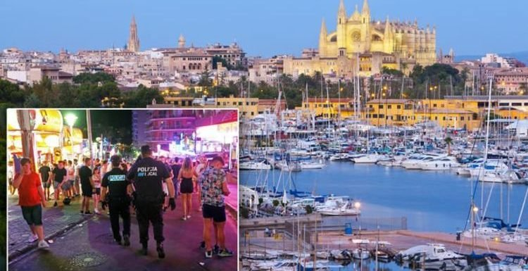 Mallorca give police new powers to walk unruly tourists to ATM for INSTANT fine payments