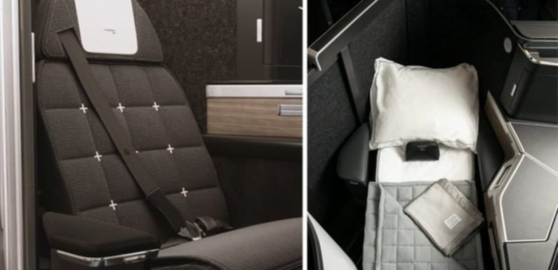 British Airways unveils swish Club Suites where every customer gets their own pods