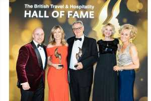 AmaWaterways Founders Inducted in British Travel and Hospitality Hall of Fame