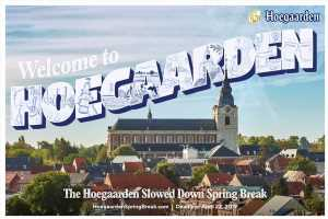 Hoegaarden Will Pay You to Take Slowed Down Spring Break Vacation