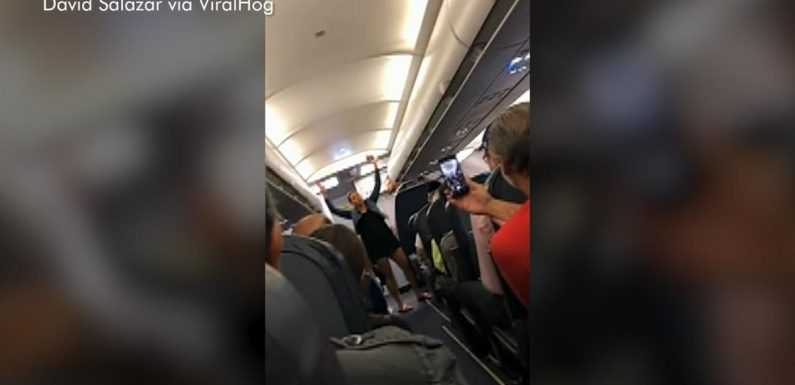 Spirit Airlines passenger removed from flight after becoming verbally abusive, twerking on plane