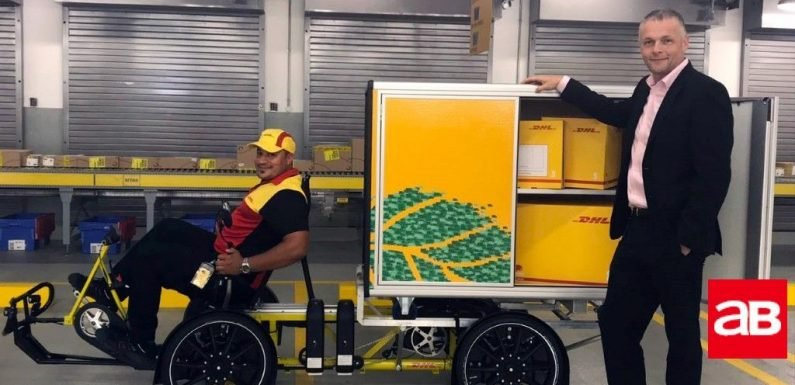 DHL piloting bicycle delivery programme in UAE