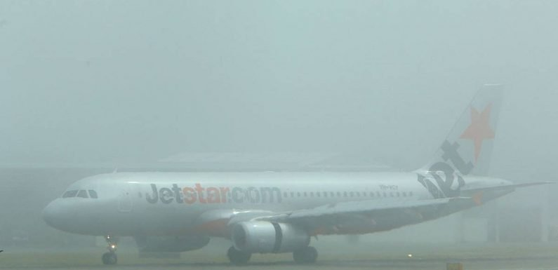 Jetstar IT outage and heavy fog causes Australian travel chaos