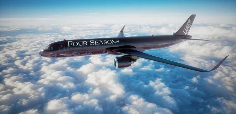 First look at Four Seasons' insanely luxurious new private jet