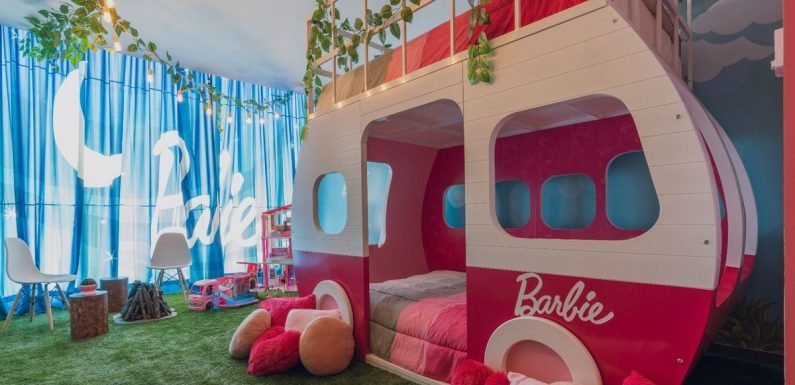 Inside the Barbie-themed hotel room that's the stuff of childhood dreams