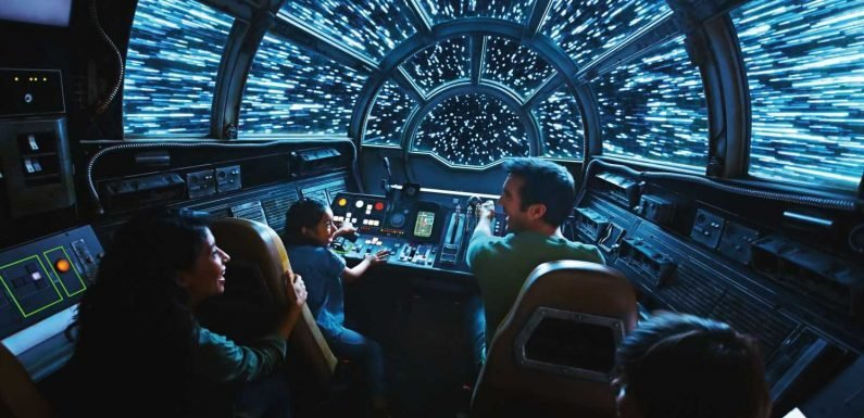Flying the Millennium Falcon at Disney's Star Wars land is fun but misses the 'wow' factor