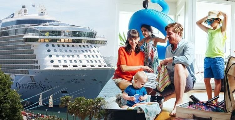 Cruise: How much luggage are passengers allowed on a Royal Caribbean cruise ship holiday?