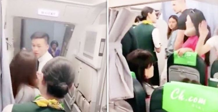WATCH: Woman tries to delay plane because her daughter is still SHOPPING