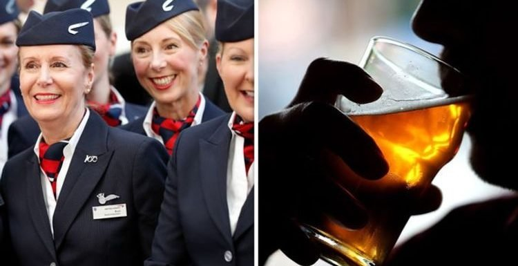 British Airways: Cabin crew reveal why passengers get drunk QUICKER in the air