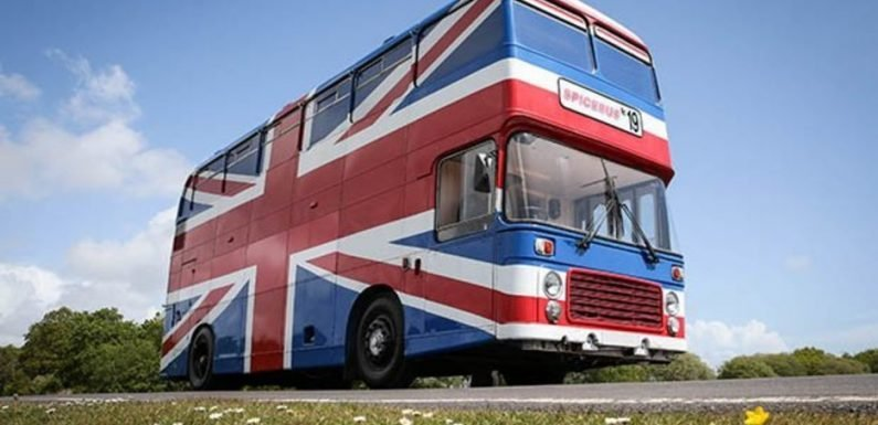 Spice Girls fans can stay in the Spice Bus for just £99-a-night on Airbnb