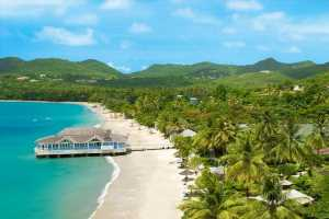 Sandals Halcyon Beach: A True Garden of Eden