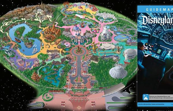 Disney Releases Guidemap for Star Wars: Galaxy's Edge at Disneyland Park