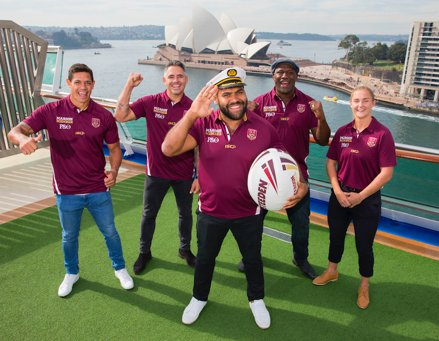 "P&O Cruises hosts 100 QLD rugby league ""super fans"" ·"