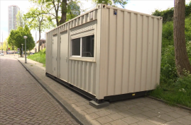 Airbnb £100-a-night 'cottage' in Amsterdam turns out to be shipping container