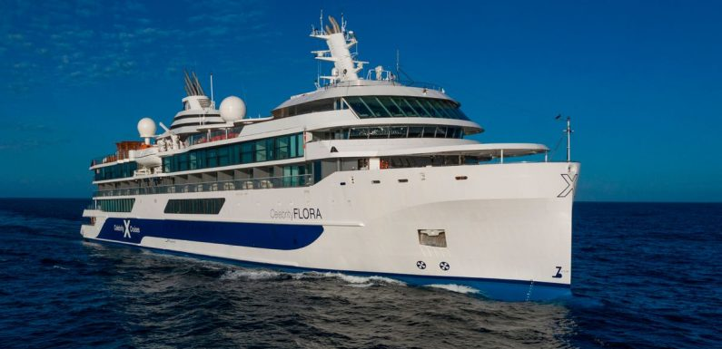 Inside new mega yacht Celebrity Flora with luxury suites and on-board glamping