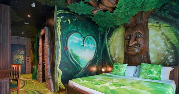 New £17million fairytale-themed hotel with enchanted forests opens its doors