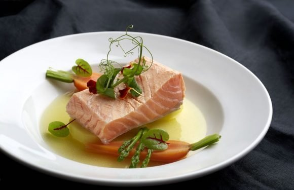 Salmon Sensations at Blue Potato ·