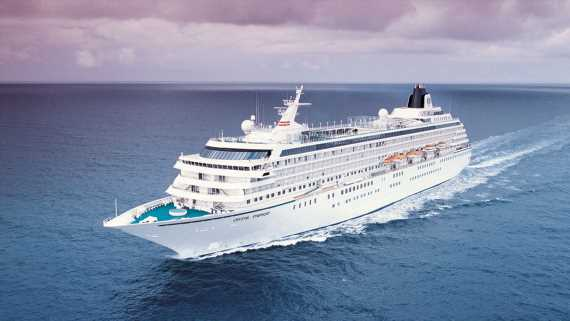 Crystal Cruises says Internet continues to get faster