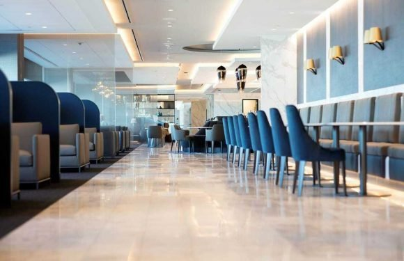 United Polaris Lounge named Best Business Class Lounge ·