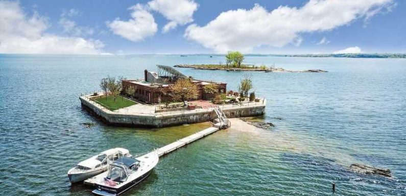The Best Views of NYC Are from the Rooftop of This Private Island — and It's For Sale
