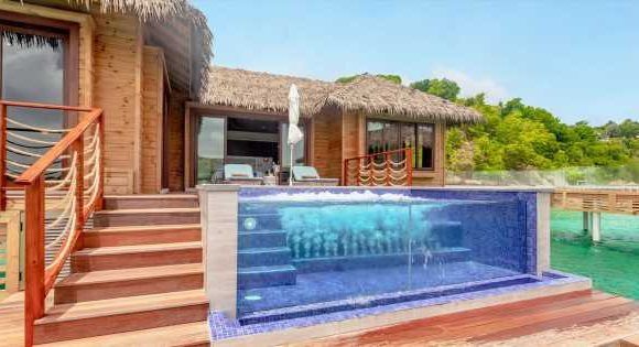 Inside the dreamy overwater bungalows with private butlers and infinity pools