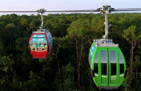 Disney Announces Opening Date for Skyliner Gondolas