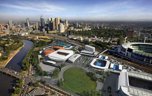 CENTREPIECE at Melbourne Park' Revealed ·