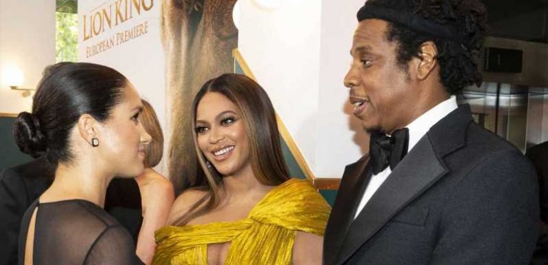 The Adorable Parenting Advice Jay Z and Beyonce Gave to Prince Harry and Meghan