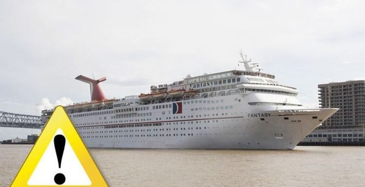 Carnival cruise ship fails health inspection after 'brown water' and 'flies' spotted