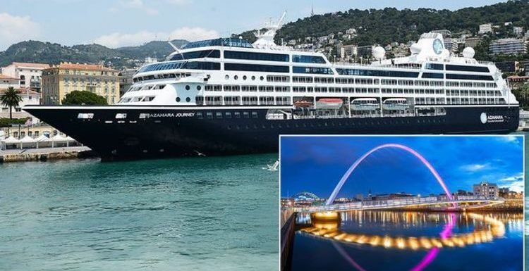 Cruise ship passengers amazed when Captain makes very unusual decision during UK stop off