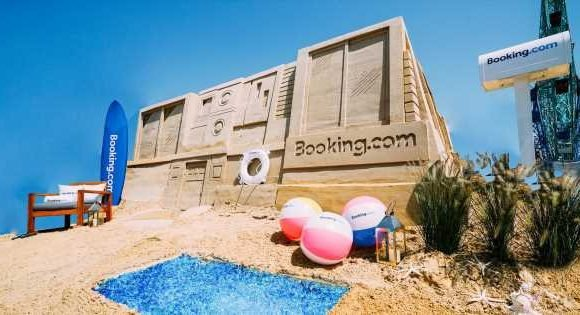 You can now book stays inside a giant sandcastle and yes – it's real sand