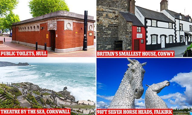 Quirkiest sights in Lonely Planet's top 500 UK experiences list