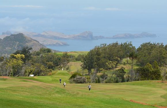 Braving the elements on a golf break in Madeira