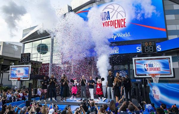 Disney Celebrates Opening of New NBA Experience Attraction