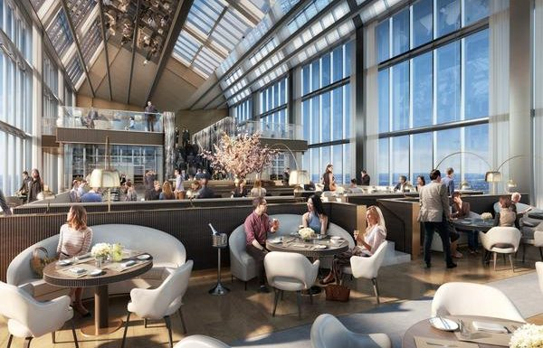 All-New Four Seasons Hotel Philadelphia at Comcast Center Crowns City's Tallest Building