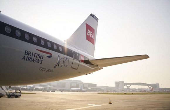 Beautiful British Airways liveried Aircraft to star in Jersey Air Display ·