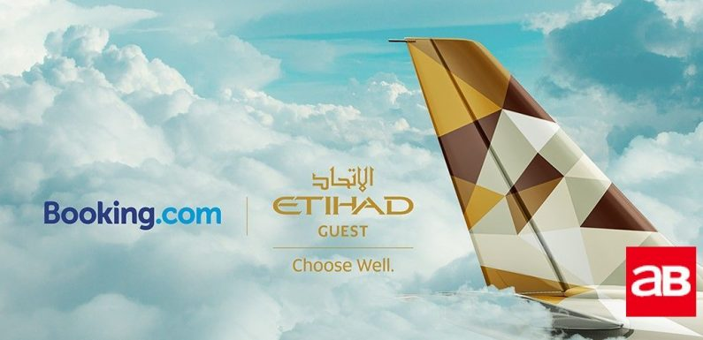 Etihad's loyalty programme inks deal with Booking.com