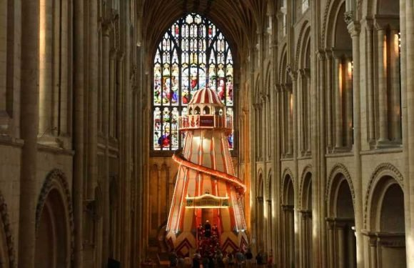 This Historic English Cathedral Just Installed a Slide in the Middle of the Church
