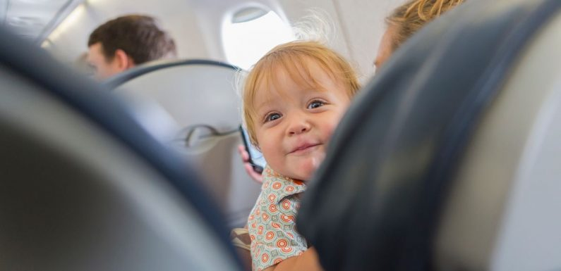 Airline's seating map shows where babies are sat so passengers can avoid them