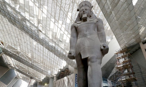A glimpse behind the scenes of Giza's Grand Egyptian Museum