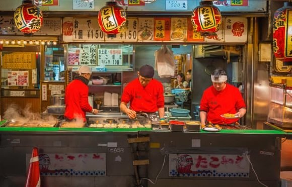 A foodie tour of Osaka, Japan