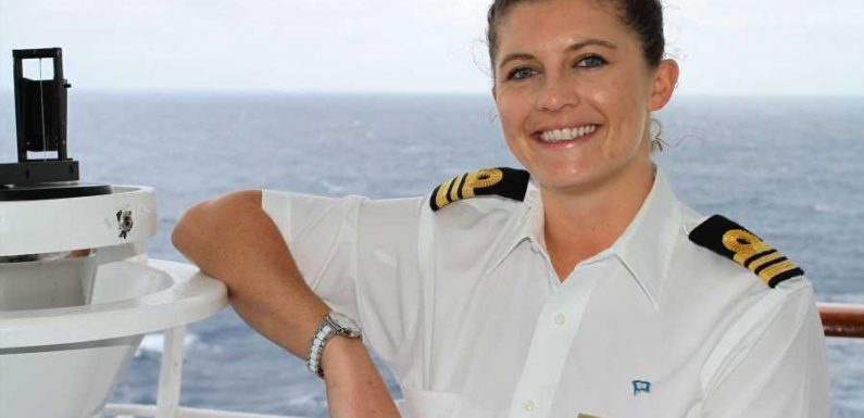 Amy Templeton, P&O Cruises' Smiling Face of World Maritime Day ·