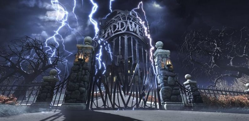 The Addams Family Mansion is opening its doors to film ...