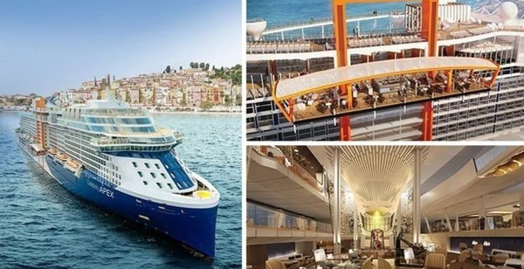 Cruises: 'Magic carpet' and 'martini glass hot tubs' – new celebrity sails from UK shores