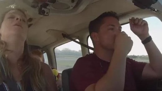 Pilot saves family by landing plane during in-flight emergency