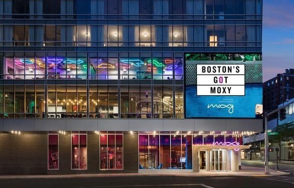 Moxy Boston Downtown Opens as the Neighborhood's Hottest Ticket in Town