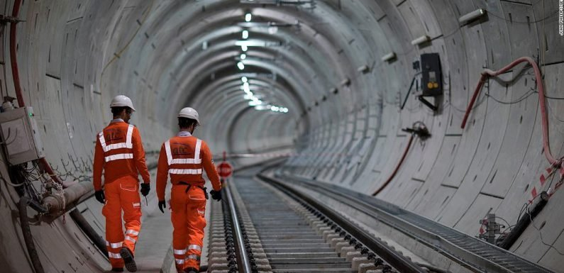 Crossrail, a new London underground line, will transform the UK capital