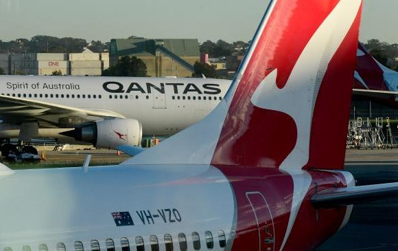 Colour change on board Qantas this month